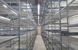 North American Steel EasyUp 7000 Shelving Main Menu