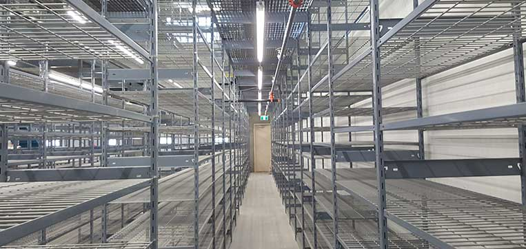 North American Steel EasyUp 7000 Shelving Product Line
