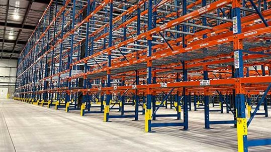 North American Steel Pallet Racking Domestic vs Imported Rack